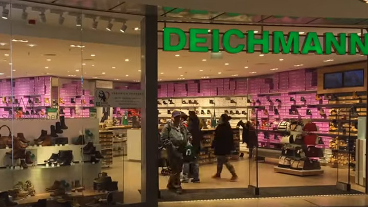 Deichmann  - Shop Lighting