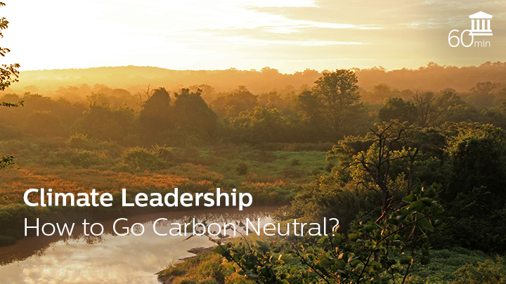 Climate Leadership - How to Go Carbon Neutral?