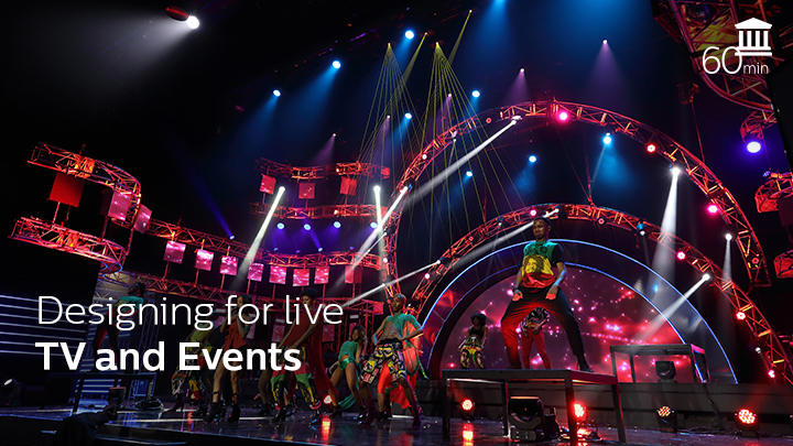 Designing for live TV and events