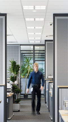 Increase productivity in the workplace with Philips office lighting