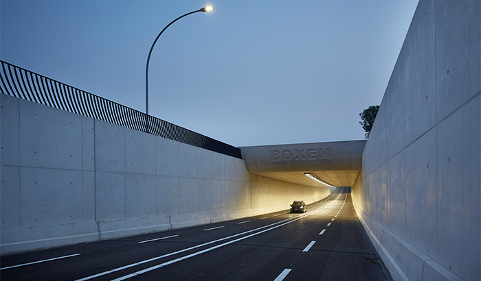 Boxem Tunnel Zwolle Netherlands