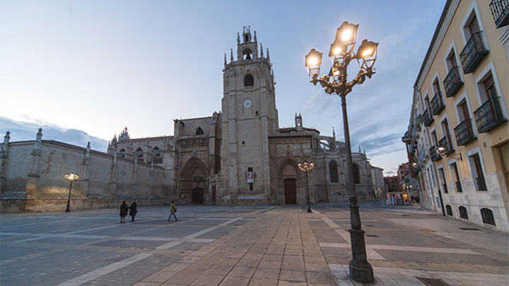 Philips illuminated the Palencia city