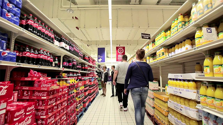 Smart lighting in your supermarket