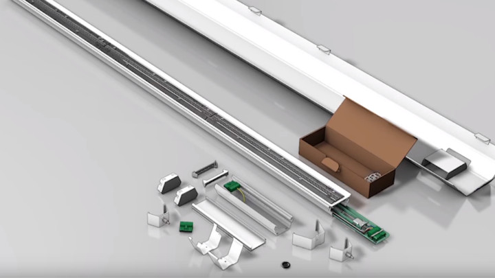 CoreLine trunking installation demo