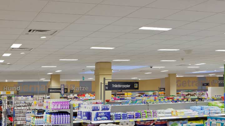 Retail lighting - Save energy
