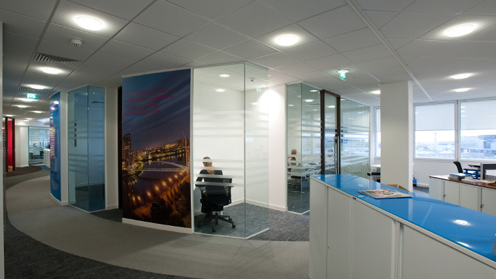 Offices and conference rooms in airports