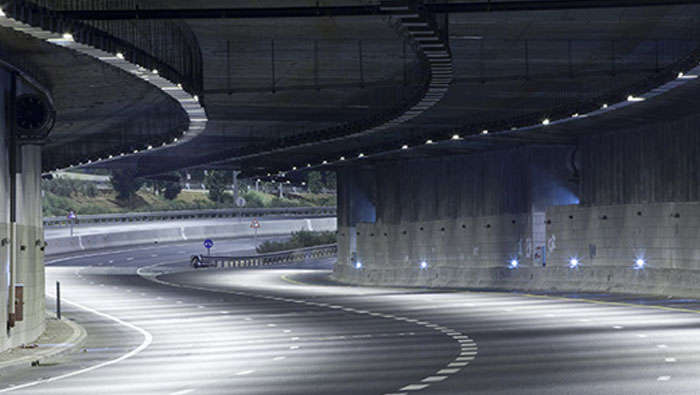 TotalTunnel - LED tunnel lighting by Philips Lighting