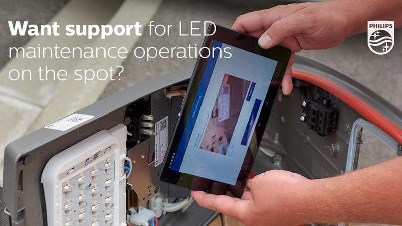 See lighting asset management in a new light with Philips Service Tag
