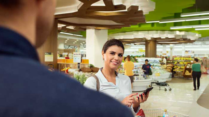 Philips indoor positioning and store lighting system provides the perfect light and precise location