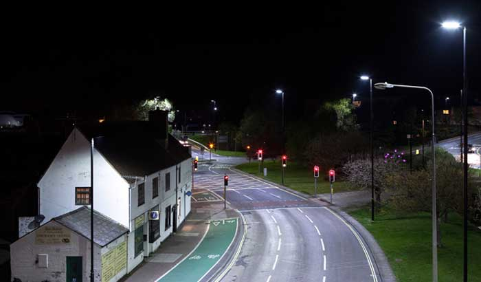 Isle of Wight's street lighting