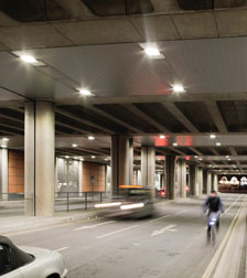 Lighting St Pancras Road Underpass