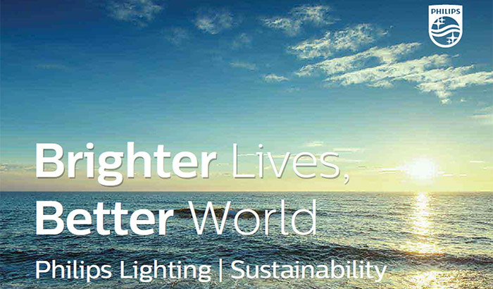 Philips Lighting - Brighter Lives, Better World