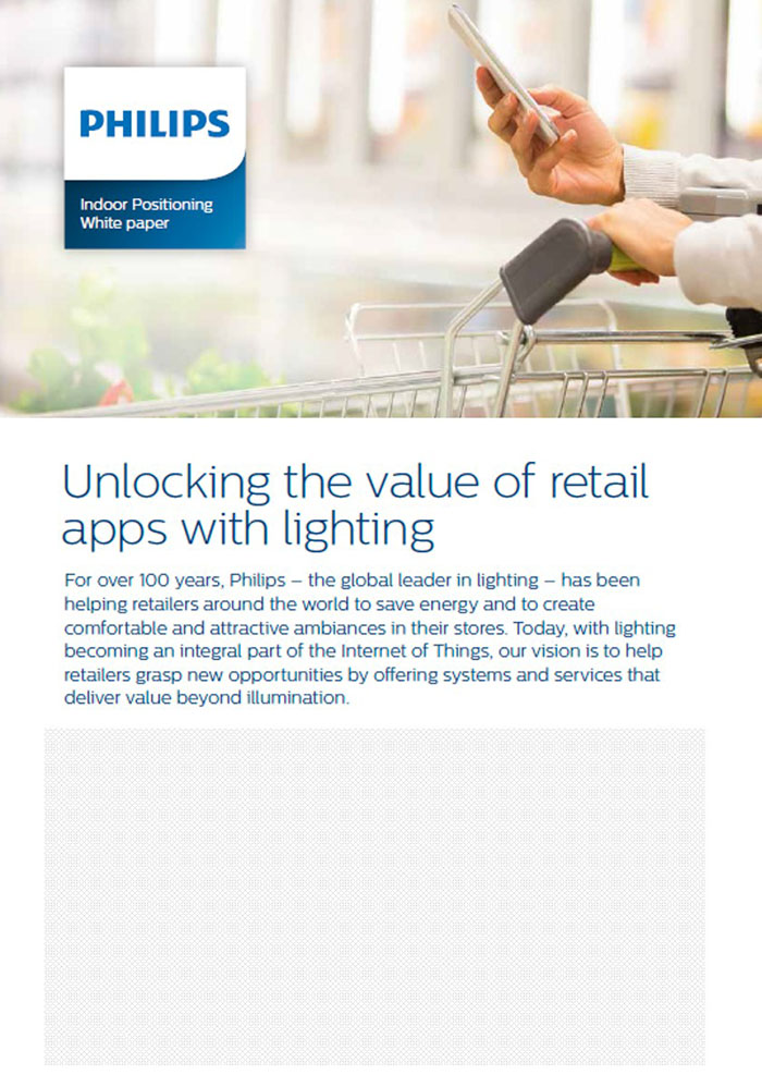 Philips Lighting - Indoor positioning white paper