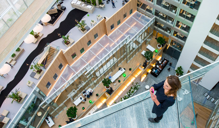 Philips Lighting - Connected Offices - The Edge, Amsterdam