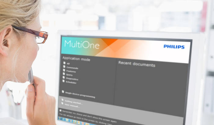 Philips Multione Engineering software Ver 2.7