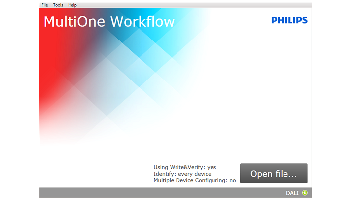 Philips OEM MultiOne Workflow