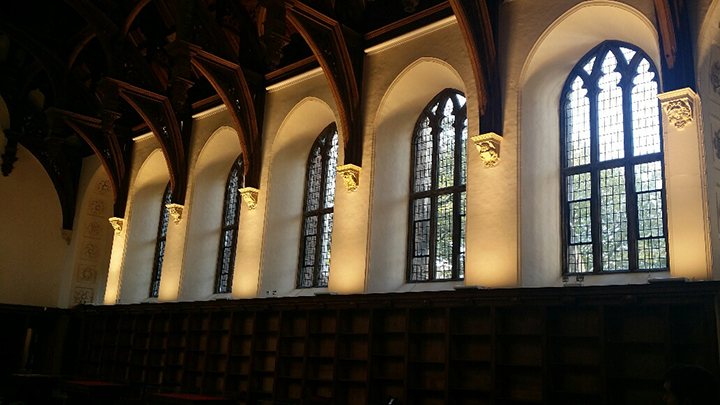 Lambeth Palace the great hall