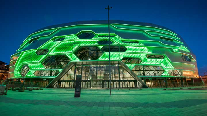 Philips Lighting - Leeds First Direct Arena -LITE - Green