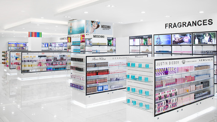 Philips ExpertColor cosmetics beauty store lighting luxury retail lighting