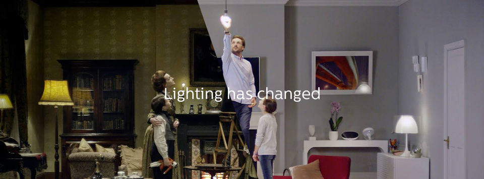 connected lighting with Hue