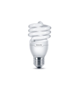 Spiral shape CFL lights
