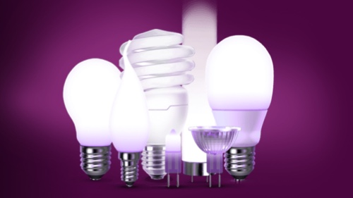 Bulb collection of different lighting technologies