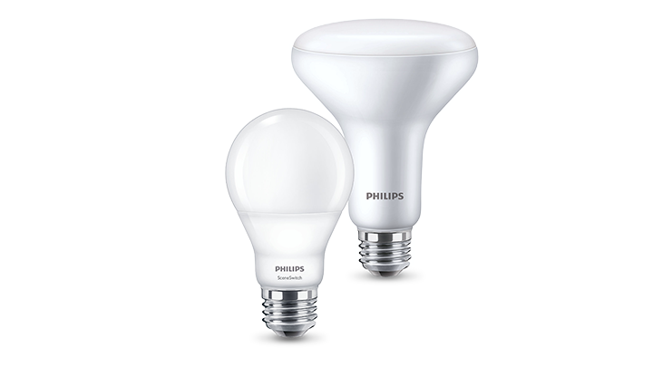 Philips SceneSwitch LED light bulbs product family